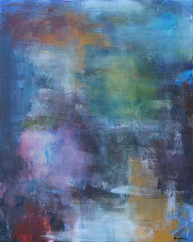 Abstract in Blue by Greg Willits
