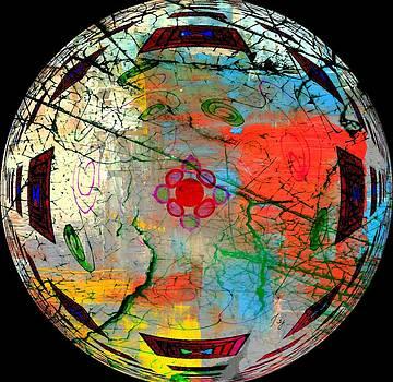 Abstract in Orbit by Jan Steadman-Jackson