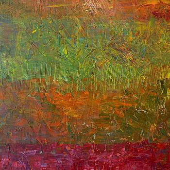 Michelle Calkins - Abstract Landscape Series - Fallen Leaves