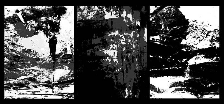 Triptych. Winter Scenery. by Krzysztof Spieczonek