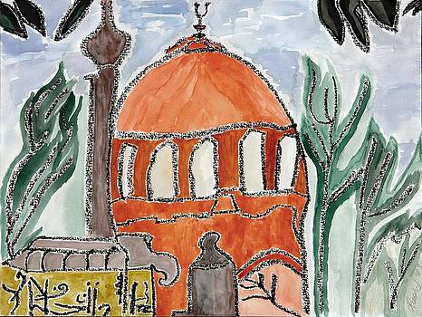 Lesley Fletcher - Abstract Mosque