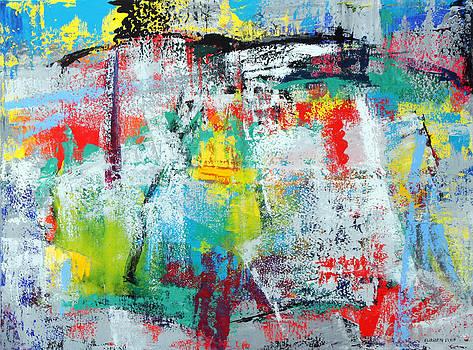 Abstract N 09 by Elizabeth Elkin