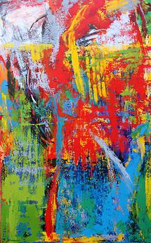 Abstract N08 by Elizabeth Elkin