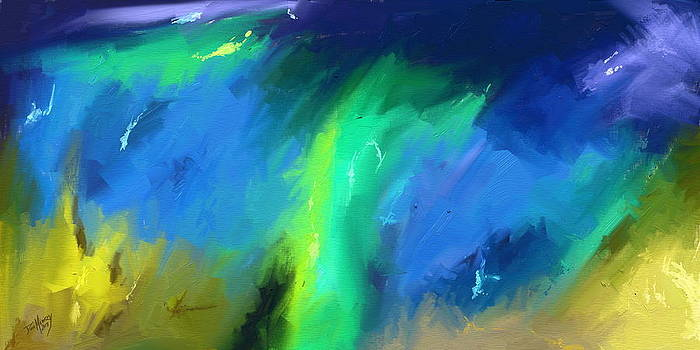 Abstract Ocean by Daniel Mowry