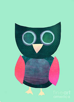 Abstract Owl by Kristin Hodges