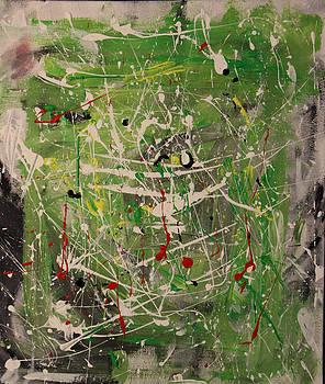 Abstract painting by Arttu Jokela