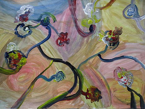Abstract Painting by Fladelita Messerli-