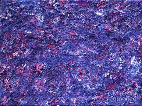 Abstract pannel Purpil  by P Dwain Morris