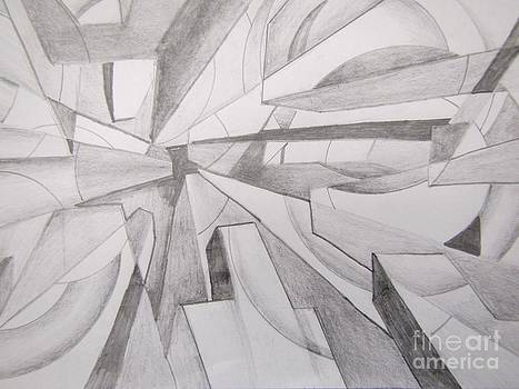John Malone - Abstract Pencil Drawing
