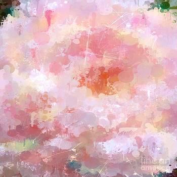 Abstract Peony 2 by Arelys Jimenez