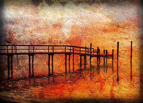 Abstract Pier by Ken Reardon