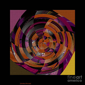 Abstract Pinwheel by Candice Danielle