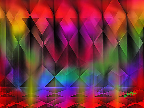 Abstract Rainbow by Billie Jo Ellis