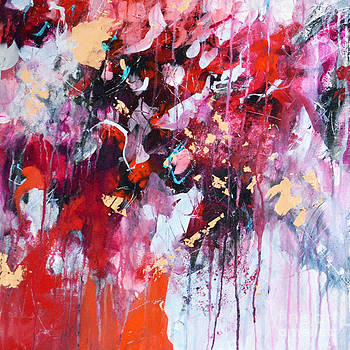 Abstract Reds by Tracy-Ann Marrison