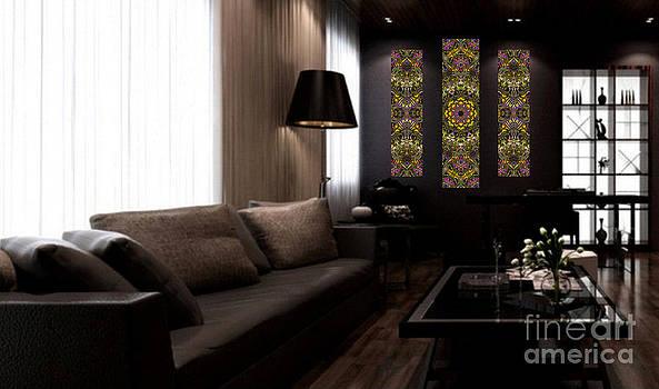 Abstract Rhythm - 33 - 38 - Art Ideas for Interior Design by Hanza Turgul