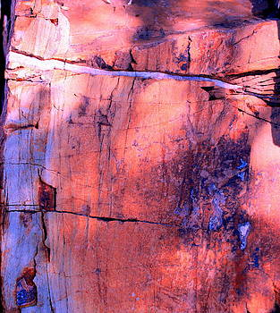 Abstract Rock 3 by M Diane Bonaparte