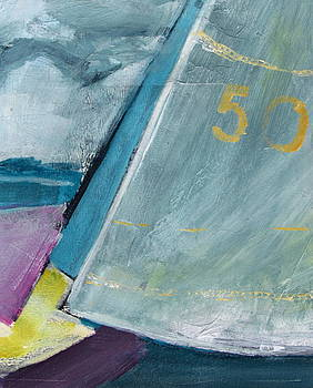 Betty Pieper - abstract sail with Number Fifty