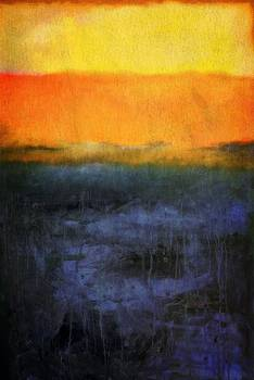 Abstract Shoreline 4.0 by Michelle Calkins