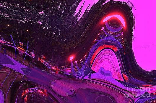 Abstract Street Scene by Blair Stuart