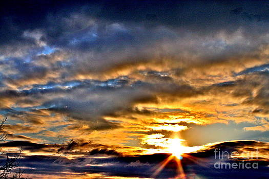 Abstract Sunrise by Jay Nodianos