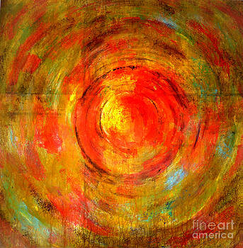 Abstract Sunset by Jose Maria Diaz Ligueri