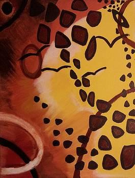 Abstract Sunshine by Tiffany  Rios