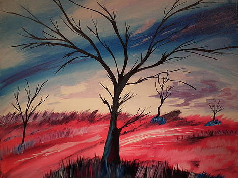 Abstract Tree by Christopher Carter