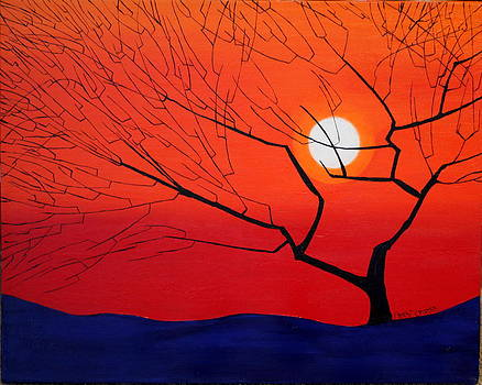Abstract Tree by Robert Crooker