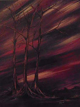 Abstract Trees by Ginny Youngblood