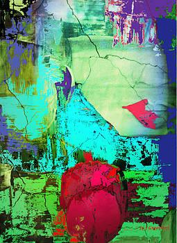 Abstract Tulip by Jan Steadman-Jackson