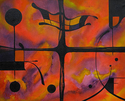 Abstract Windows by Ken Caffey