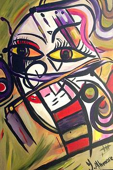 Abstract  by Yasmina Altomare
