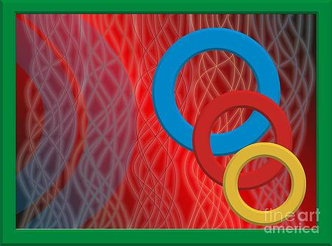 Abstraction from three rings. by Leonid Nozdrachov