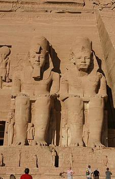 Abu Simbel temples by Olaf Christian