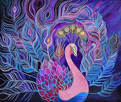 Abundance Peacock by Agnieszka Szalabska