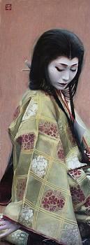 Abutsu-ni - geisha art by Phil Couture