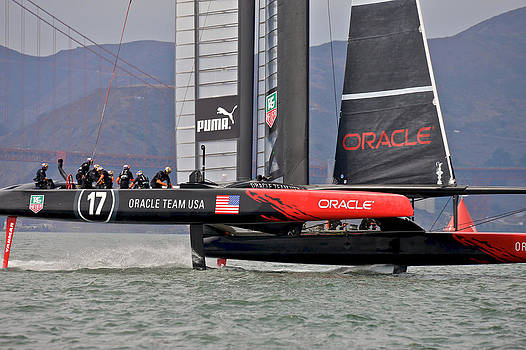 Steven Lapkin - ORACLE TEAM USA