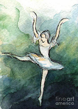 Ac293 Ballet Dancer by Kirohan Art