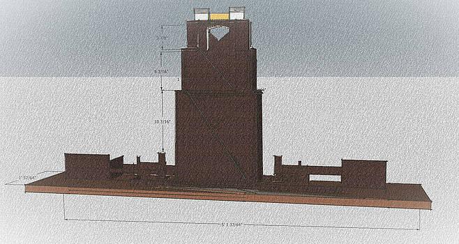 Academic tower by Mark Van Norman