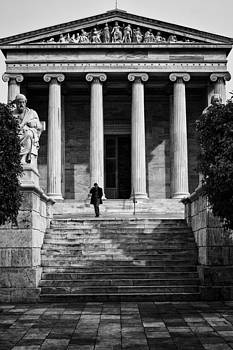 Academy of Athens by Spyros Papaspyropoulos