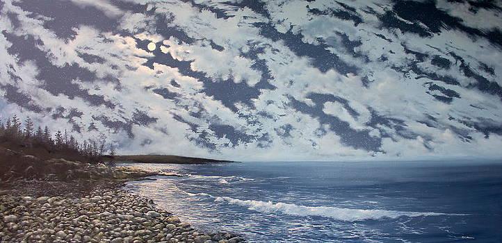 Acadia Moon by Ken Ahlering