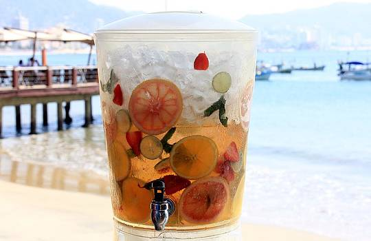 Acapulco Beach Cooler by Linda Russell