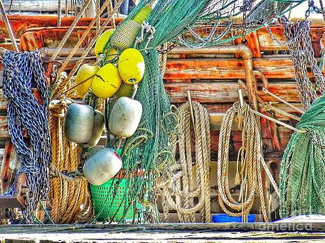 Accessories to Shrimp Catching by Patricia Greer