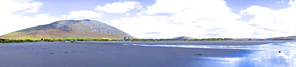 Charlie and Norma Brock - Achill Island Beach in Ireland