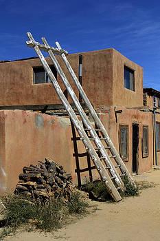Mike McGlothlen - Acoma Pueblo Adobe Homes 3