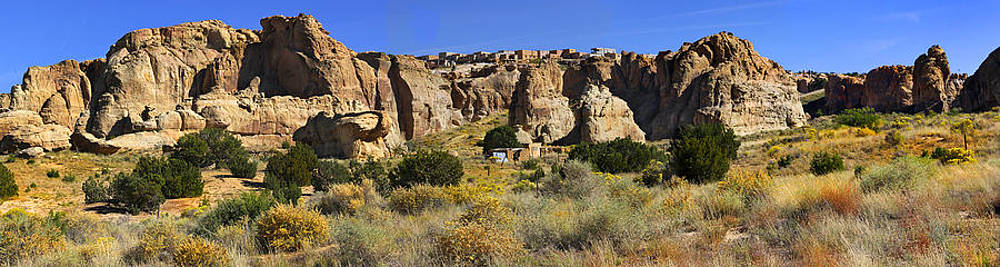 Mike McGlothlen - Acoma Pueblo Sky City Panoramic