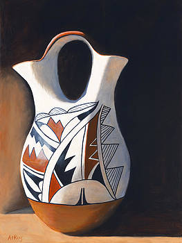 Jack Atkins - Acoma Wedding Vase