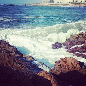 #acoruña #spain #sea #rocks by Francisco  Quiroz
