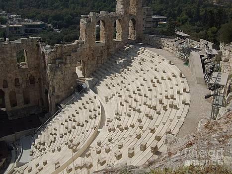 Acropolis Odeon Amphitheater by Greg Cross