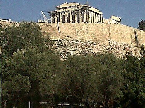 Acropolis View by Andreea Alecu